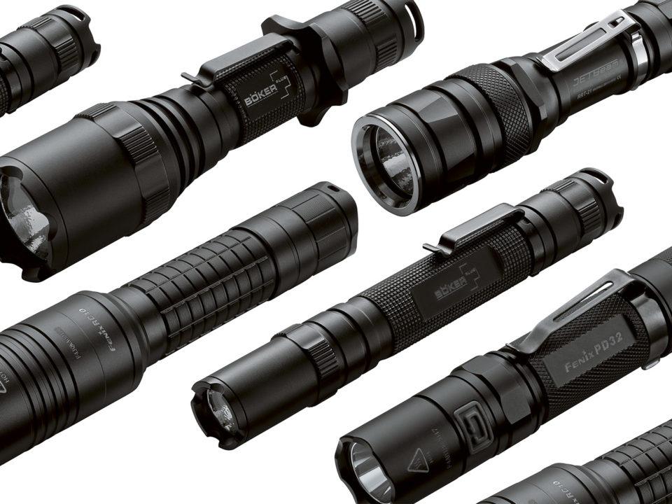 Produktfotografie-Taschenlampen